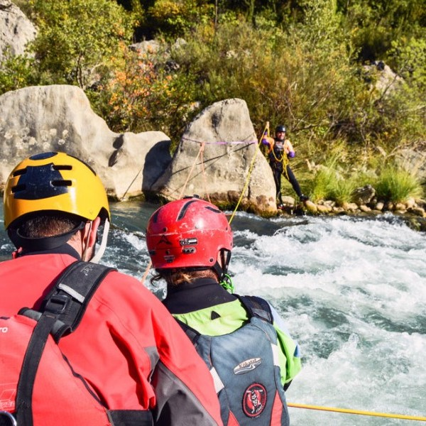 Curso de rescate WRT (Whitewater Rescue Techician)